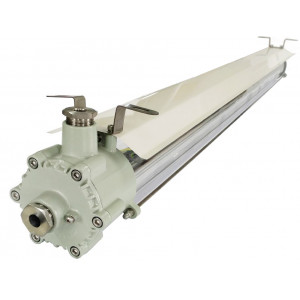 Tubulaire LED ATEX ADDIS OPALINE 130cm 40W 120lm/W TECH