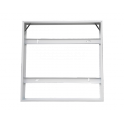 Cadre Saillie Contour Panel LED CLAREO 600x600