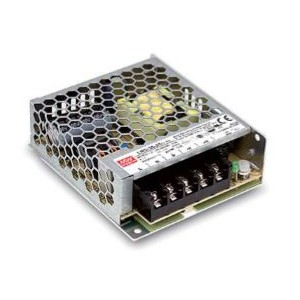 Driver Meanwell 24VDC IP 20 - 35W - Deco LRS-35-24