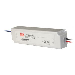Driver MeanWell 24VDC 60W IP67 Deco LPV-60-24