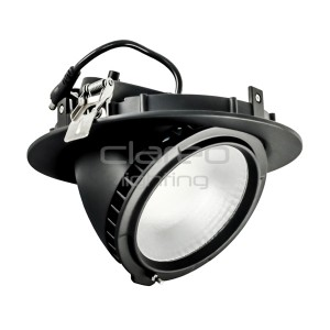 Downlight CLAREO 38W Orientable V2 LED Samsung Noir