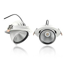 Downlights LED orientables