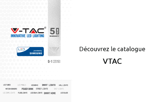 catalogue V-TAC