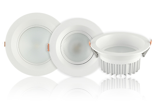 Downlights LED fixes
